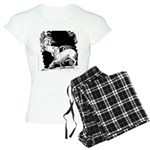 Borzoi and Unicorn Women's Light Pajamas