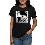 Borzoi and Unicorn Women's Dark T-Shirt