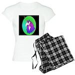 UnicornHeadStudyOval Women's Light Pajamas