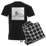 WolfYearling Men's Dark Pajamas