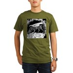 TigrHeaddZGryph2000x Organic Men's T-Shirt (da