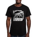TigrHeaddZGryph2000x Men's Fitted T-Shirt (dar