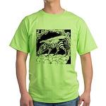 TigrHeaddZGryph2000x Green T-Shirt