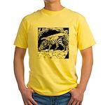 TigrHeaddZGryph2000x Yellow T-Shirt