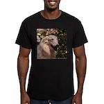 tersai-head-oil.210... Men's Fitted T-Shirt (dark)
