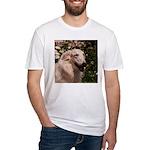 tersai-head-oil.210... Fitted T-Shirt