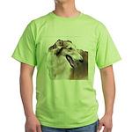 TwoKintaroHeads4cups Green T-Shirt