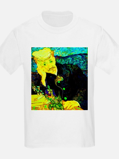 Dr. Gachet with Ring Lemon Kids T-Shirt