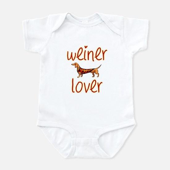 WEINER LOVER Infant Bodysuit