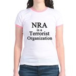 NRA Terrorist Jr. Ringer T-Shirt