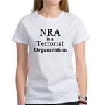 NRA Terrorist Women's T-Shirt
