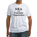 NRA Terrorist Fitted T-Shirt