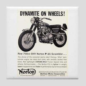 1967 Norton Dynamite Motorcycle P-11 Scrambler Til