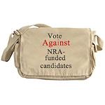 Vote Against NRA Messenger Bag