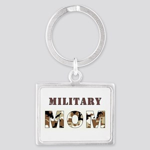 MILITARY MOM Landscape Keychain