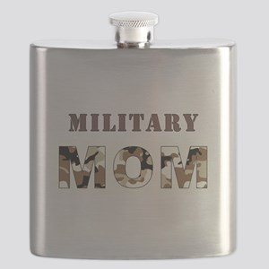 MILITARY MOM Flask