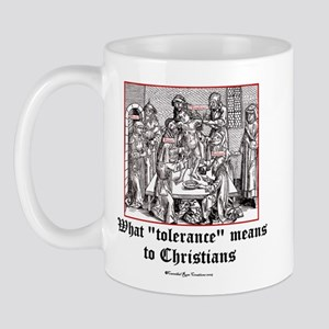Christian Tolerance Mug