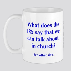 in church Mug