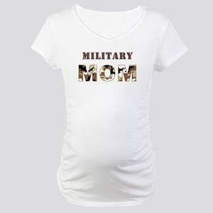 MILITARY MOM Maternity T-Shirt
