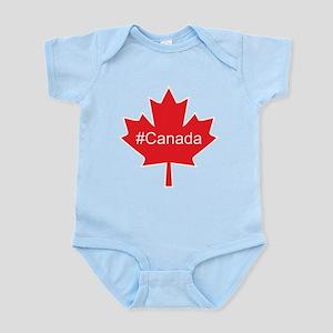 #Canada hash tag Infant Bodysuit