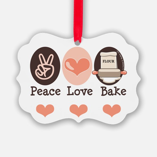 Cute Baking Ornament