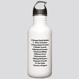 12 days of funeral home Stainless Water Bottle