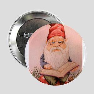 """Literary Gnome 2.25"""" Button"""