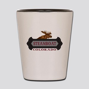 Steamboat Springs Fleur de Moose Shot Glass