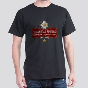 Steamboat Springs Natural Marquis Dark T-Shirt