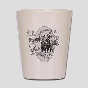 Steamboat Springs Vintage Moose Shot Glass