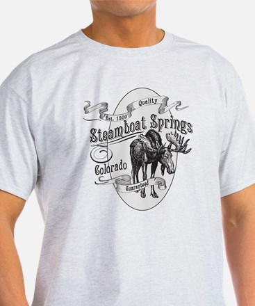 Steamboat Springs Vintage Moose T-Shirt