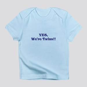 YES, We're Twins!!! - Infant T