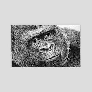 Gorilla Area Rug