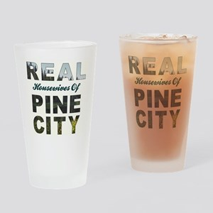 Real Housewives of Pine City Drinking Glass