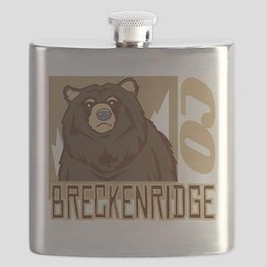 Breckenridge Grumpy Grizzly Flask