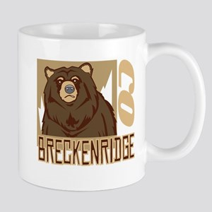 Breckenridge Grumpy Grizzly Mug