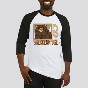 Breckenridge Grumpy Grizzly Baseball Jersey
