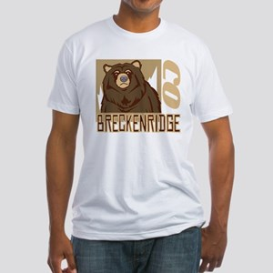 Breckenridge Grumpy Grizzly Fitted T-Shirt