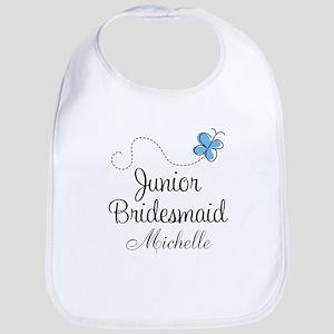 Junior Bridesmaid Personalized Baby Bib