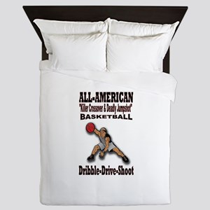 ALL-AMERICAN BASKETBALL Queen Duvet