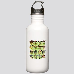 16 Chicken Families Stainless Water Bottle 1.0L