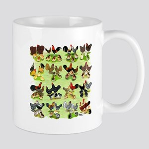 16 Chicken Families Mug