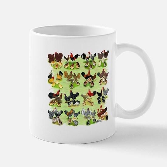 16 Chicken Families Mug