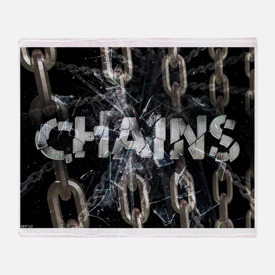 Chains Throw Blanket