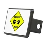Bobcat Crossing Rectangular Hitch Cover