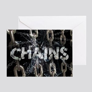 Chains Greeting Card