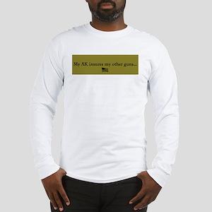 Gun Insurance Long Sleeve T-Shirt
