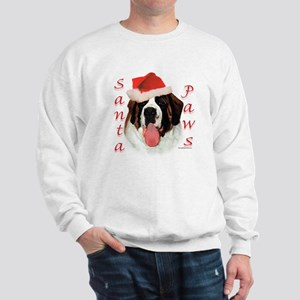 Santa Paws Saint Bernard Sweatshirt