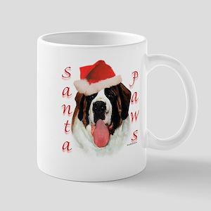 Santa Paws Saint Bernard Mug