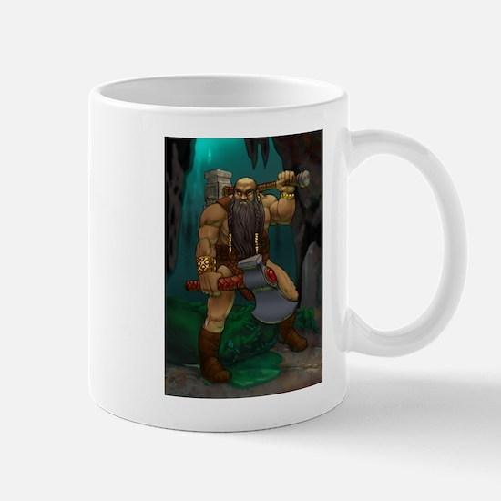 Dwarven Adventurer Mug